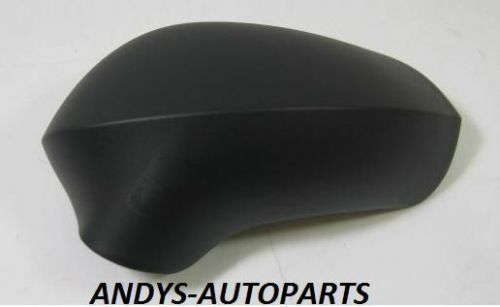 SEAT LEON 09-12 GENUINE ONWARDS WING MIRROR COVER R/H OR L/H BLACK GRAINED